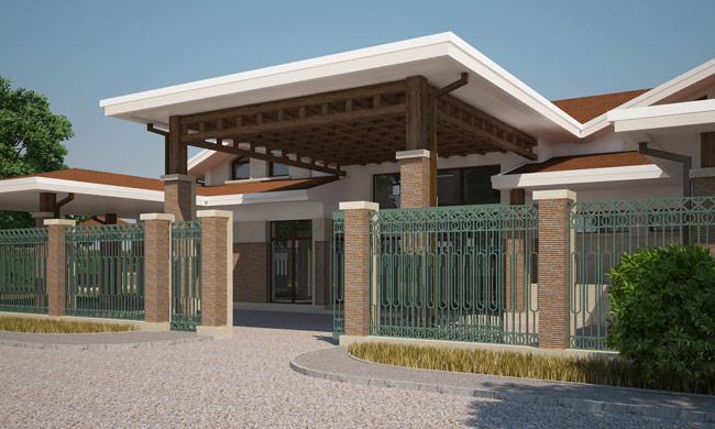 Дизайн фасадов загородного дома