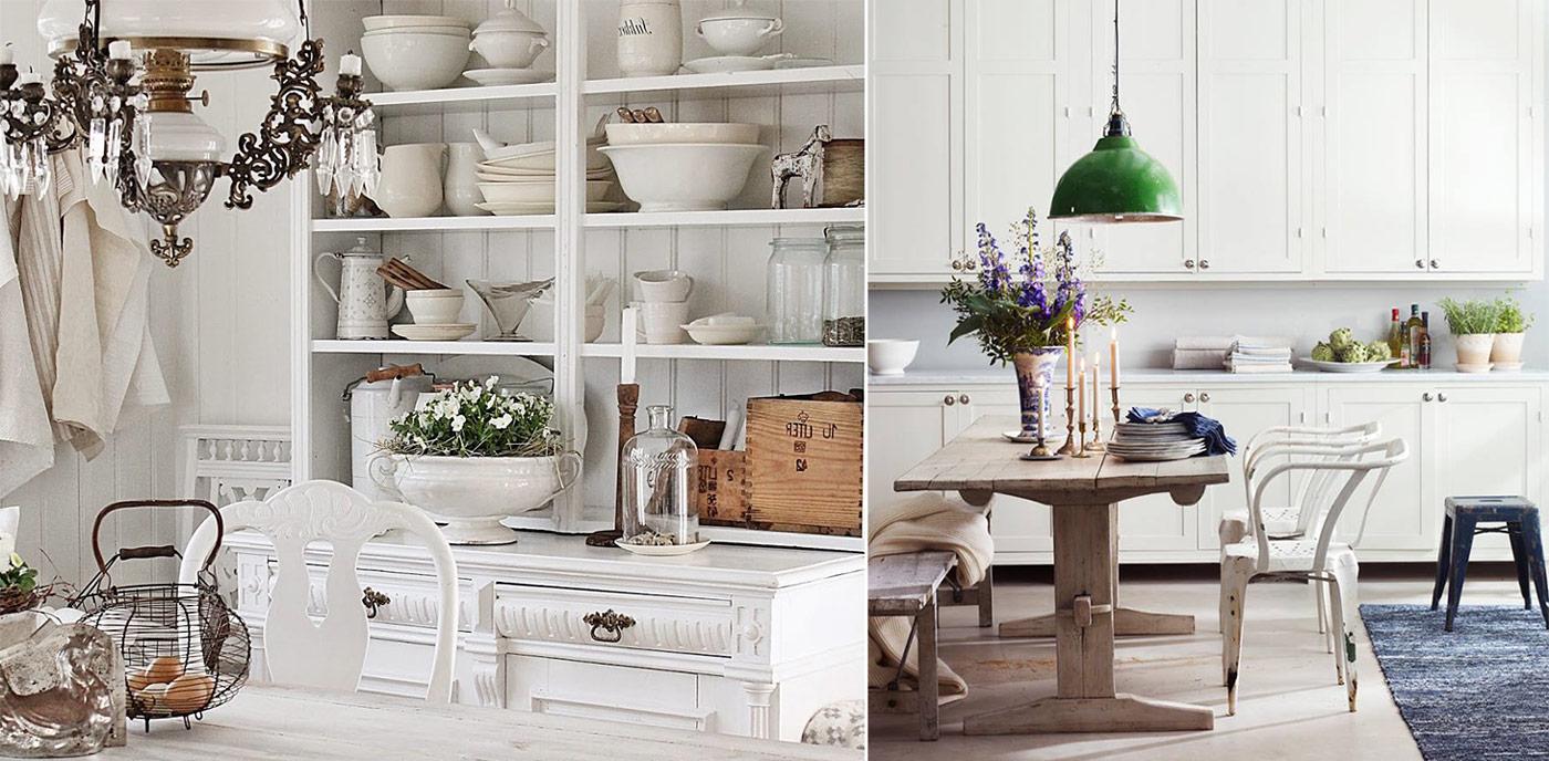 Дизайн кухни в стиле Прованс фото