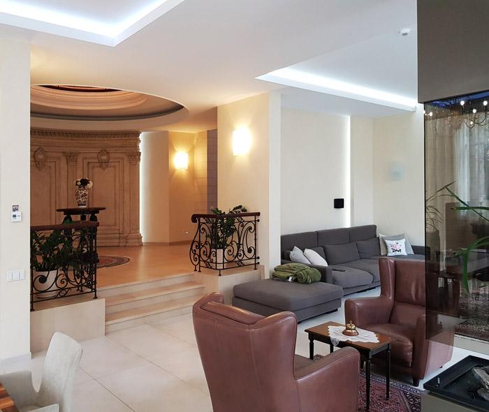 Дизайн зала в доме фото