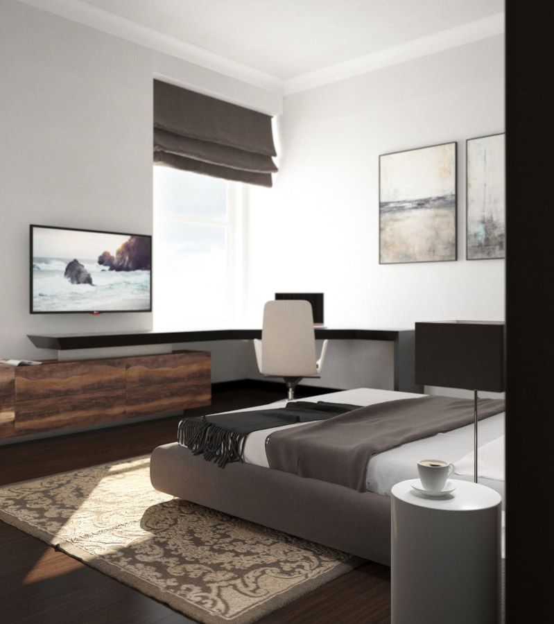 портфолио дизайн интерьера квартир