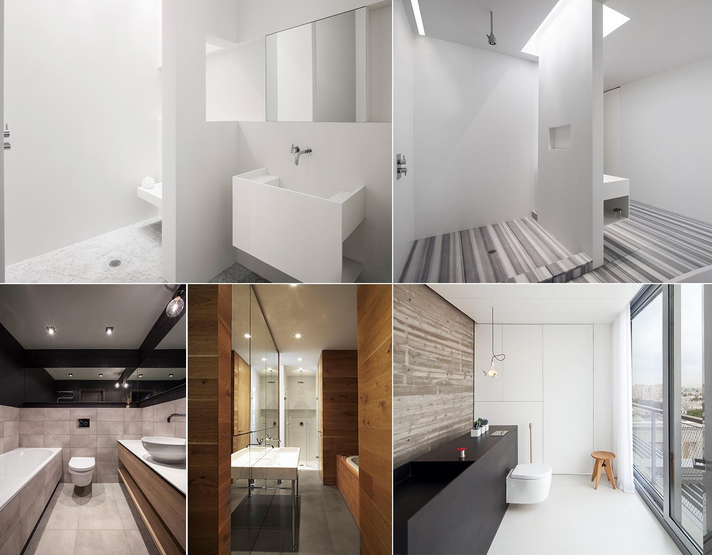 Ванная комната в стиле минимализм фото