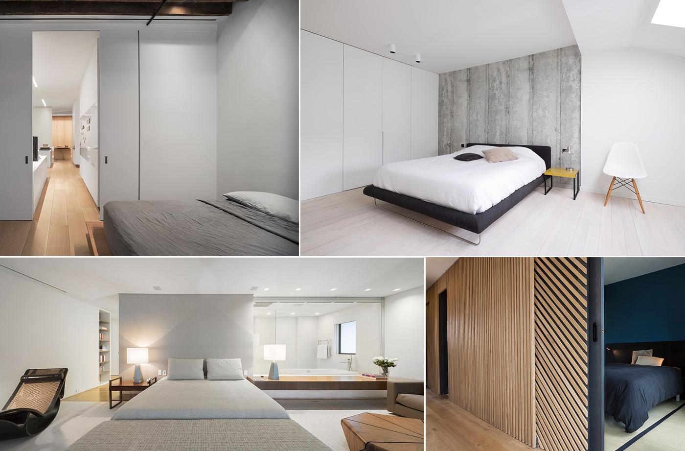 Дизайн спальни в стиле минимализм фото