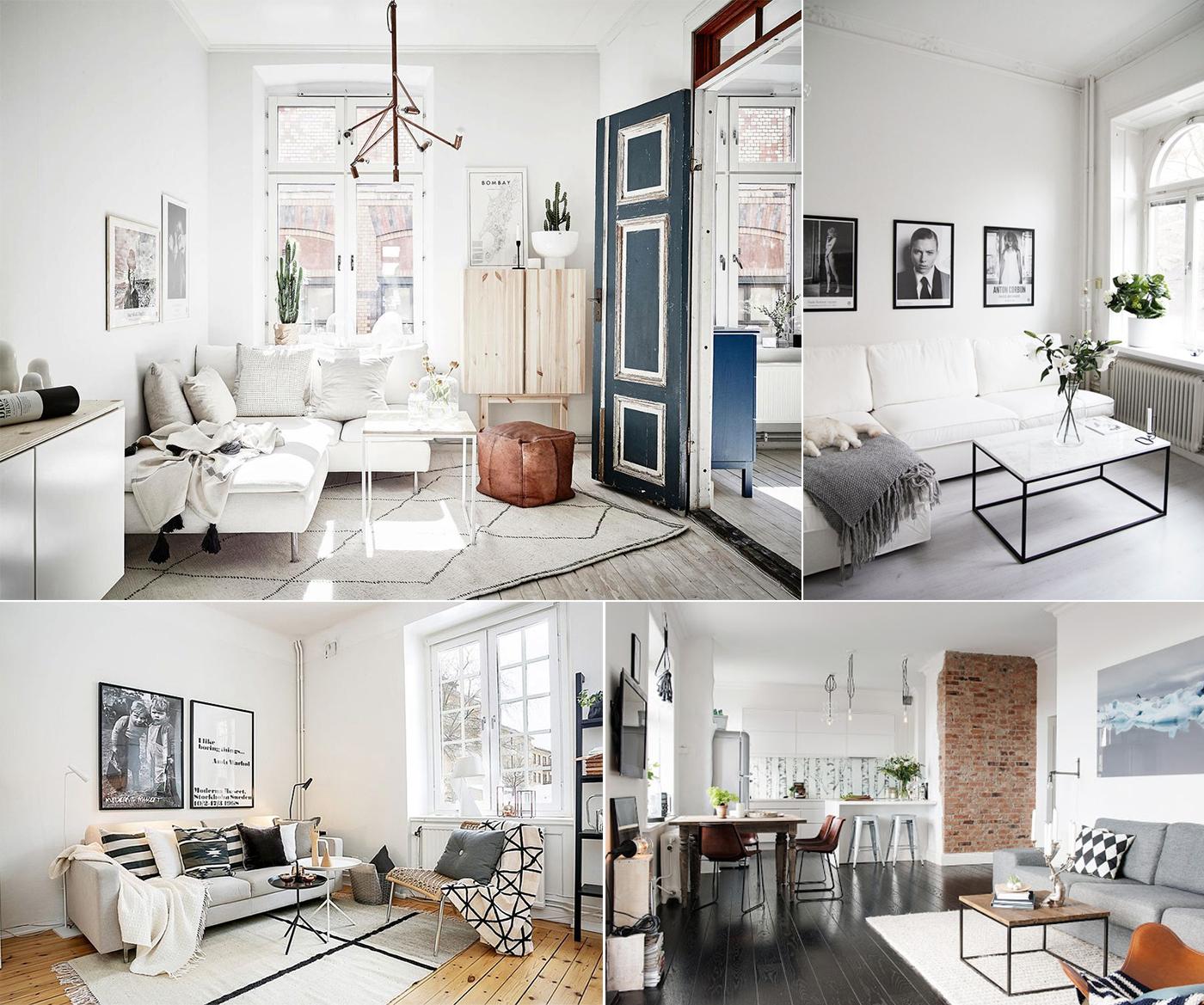 идеи интерьера двухкомнатной квартиры