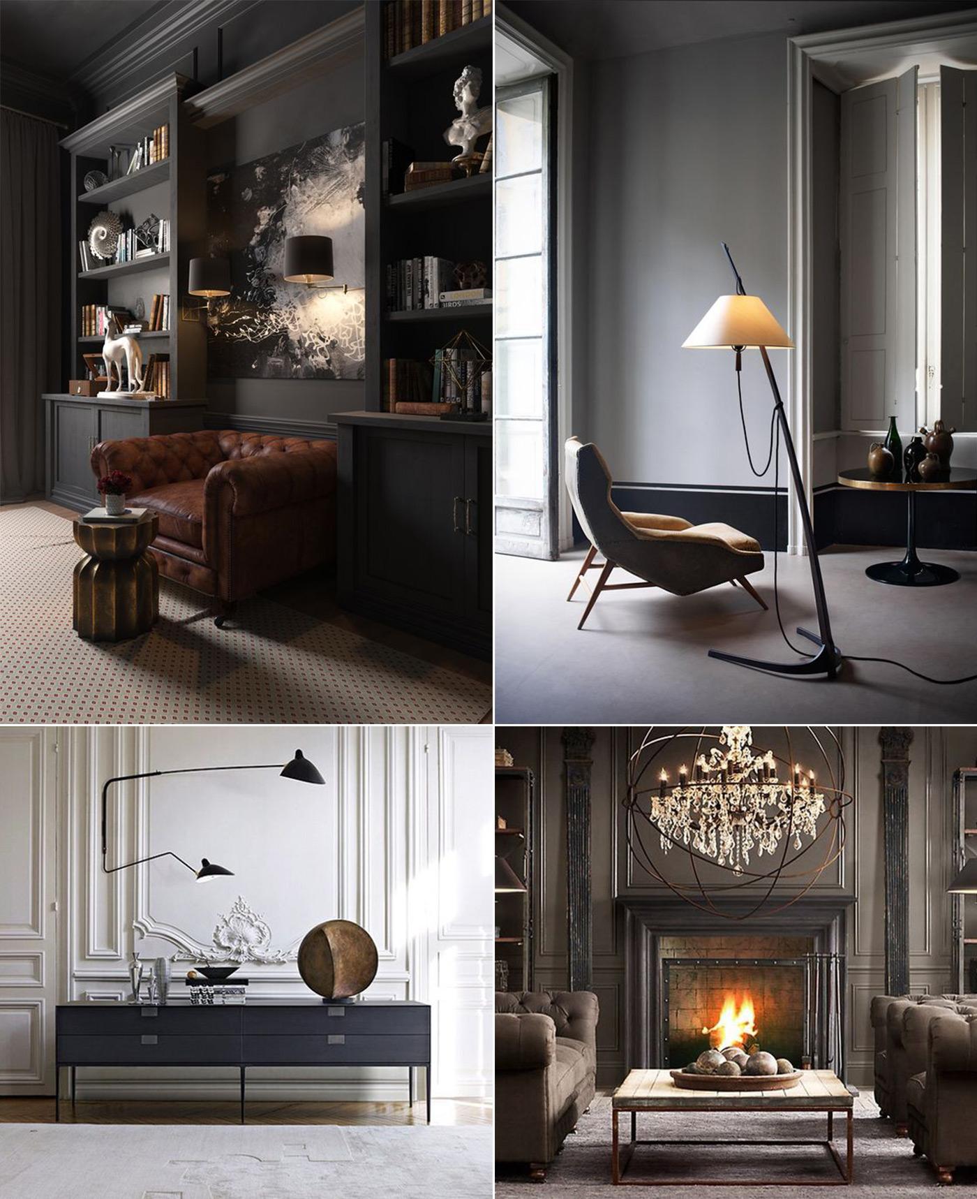 дизайн интерьера в стиле неоклассика