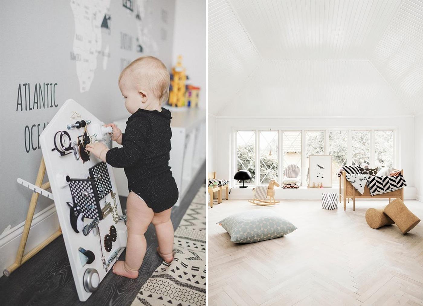 детская в скандинавском стиле - 5