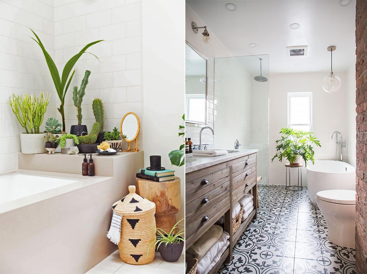 фото Скандинавского стиля в интерьере ванной