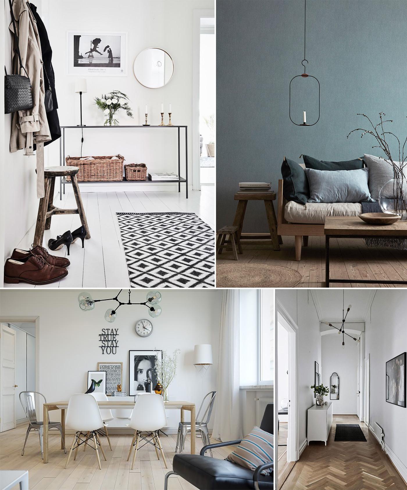 фото Скандинавского стиля в интерьере квартиры