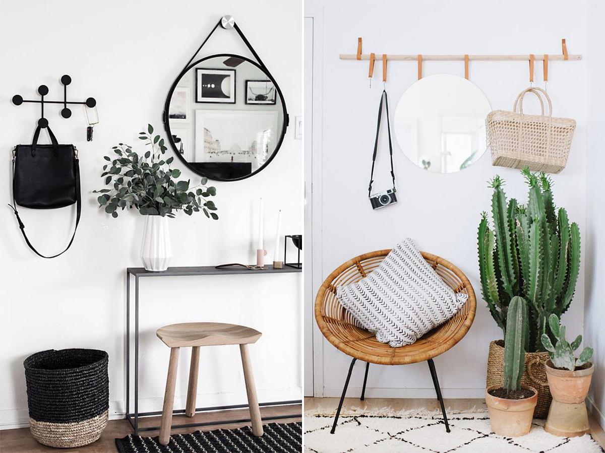 картинки скандинавского стиля в интерьере прихожей
