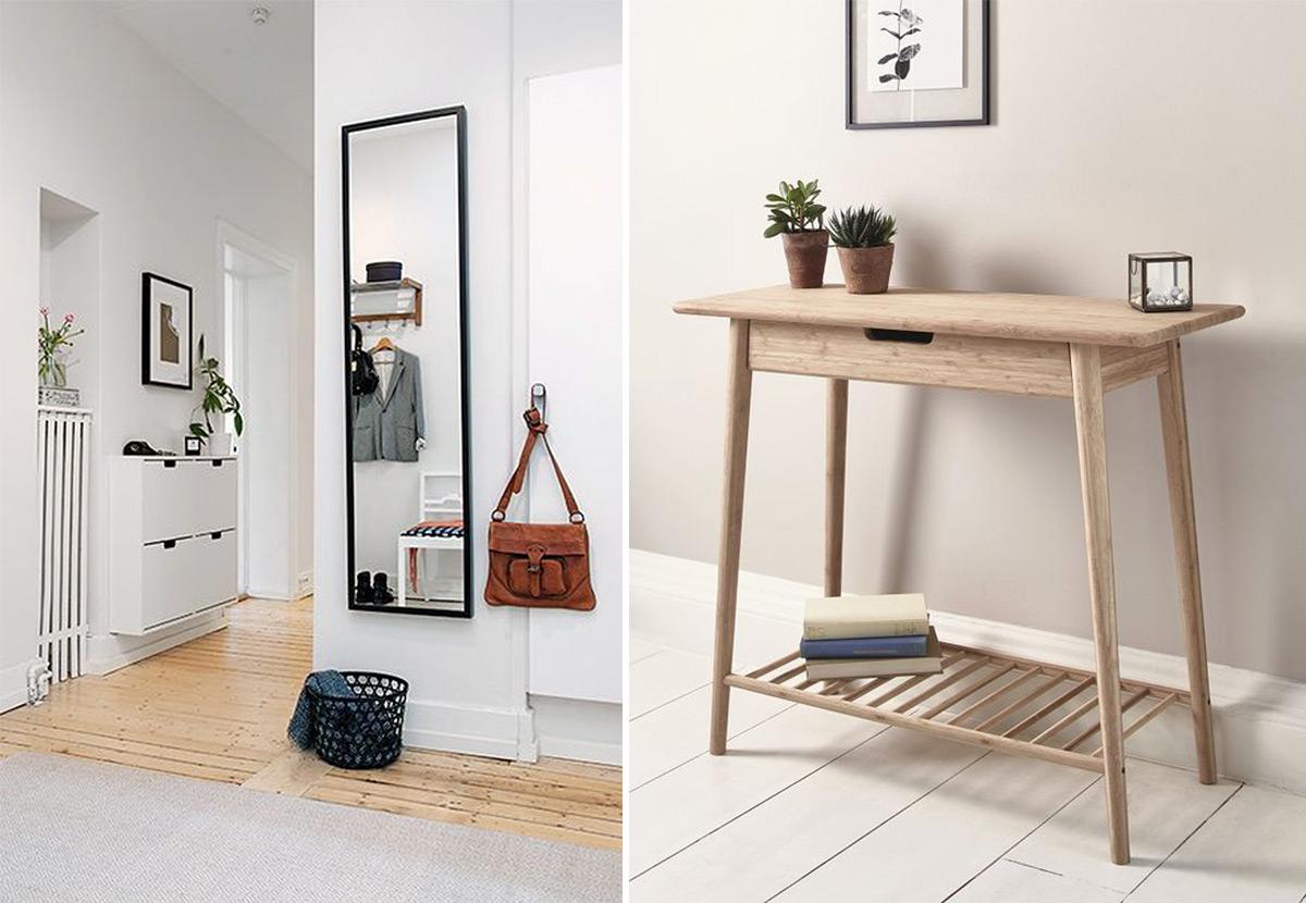 фото скандинавского стиля в интерьере прихожей