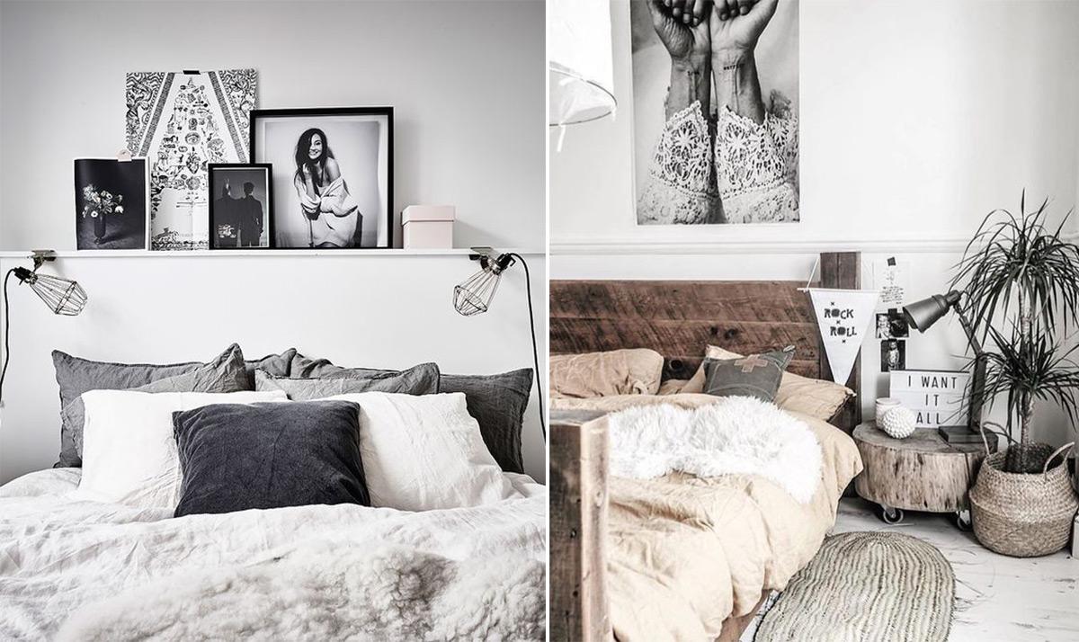 скандинавский стиль в интерьере спальни-8