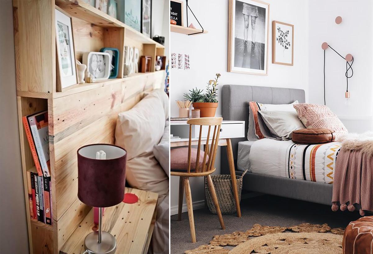 скандинавский стиль в интерьере спальни-6