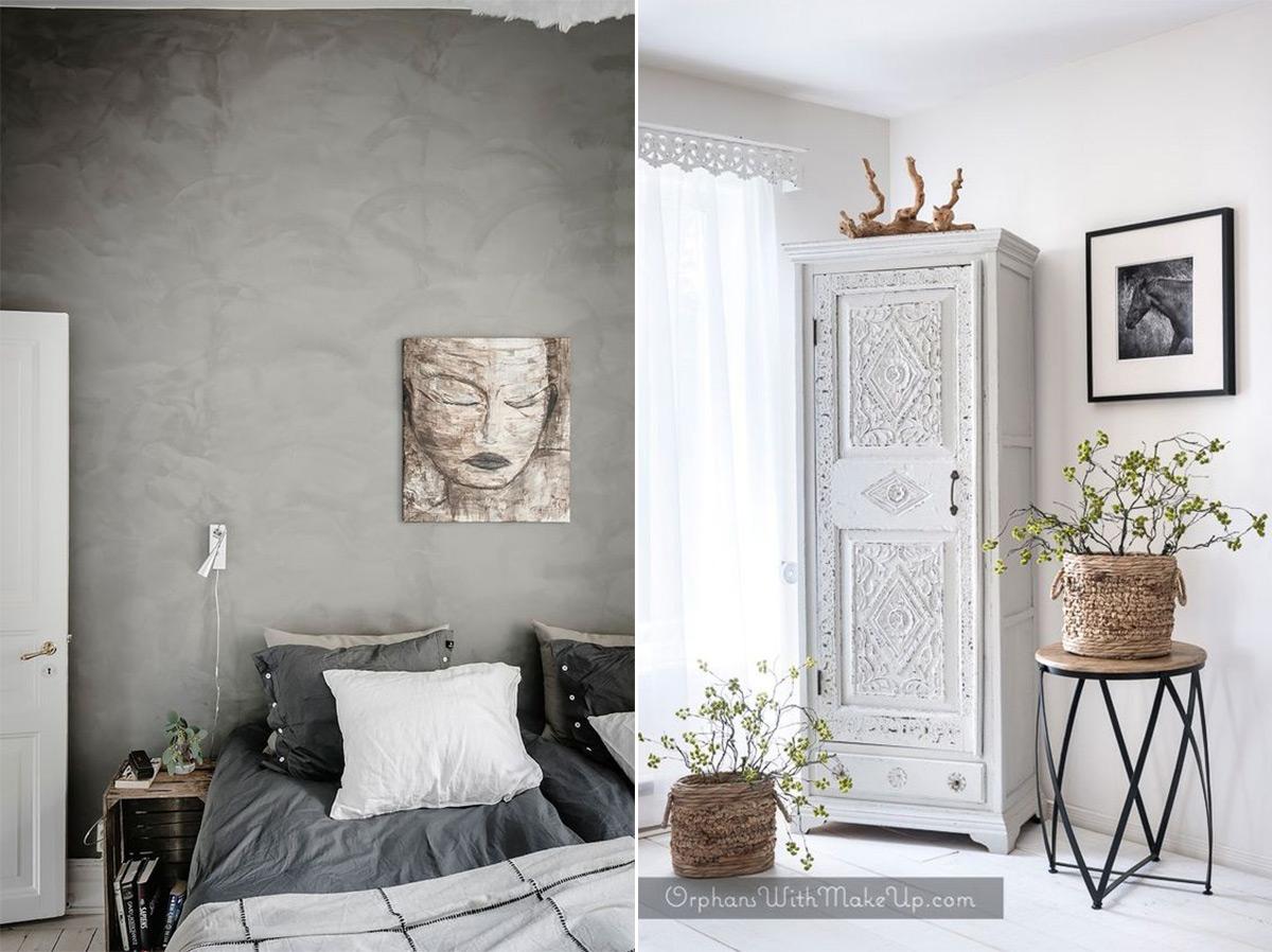 скандинавский стиль в интерьере спальни-5