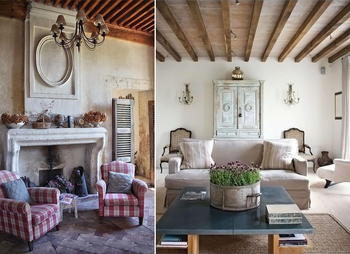 оформление дома в стиле прованс