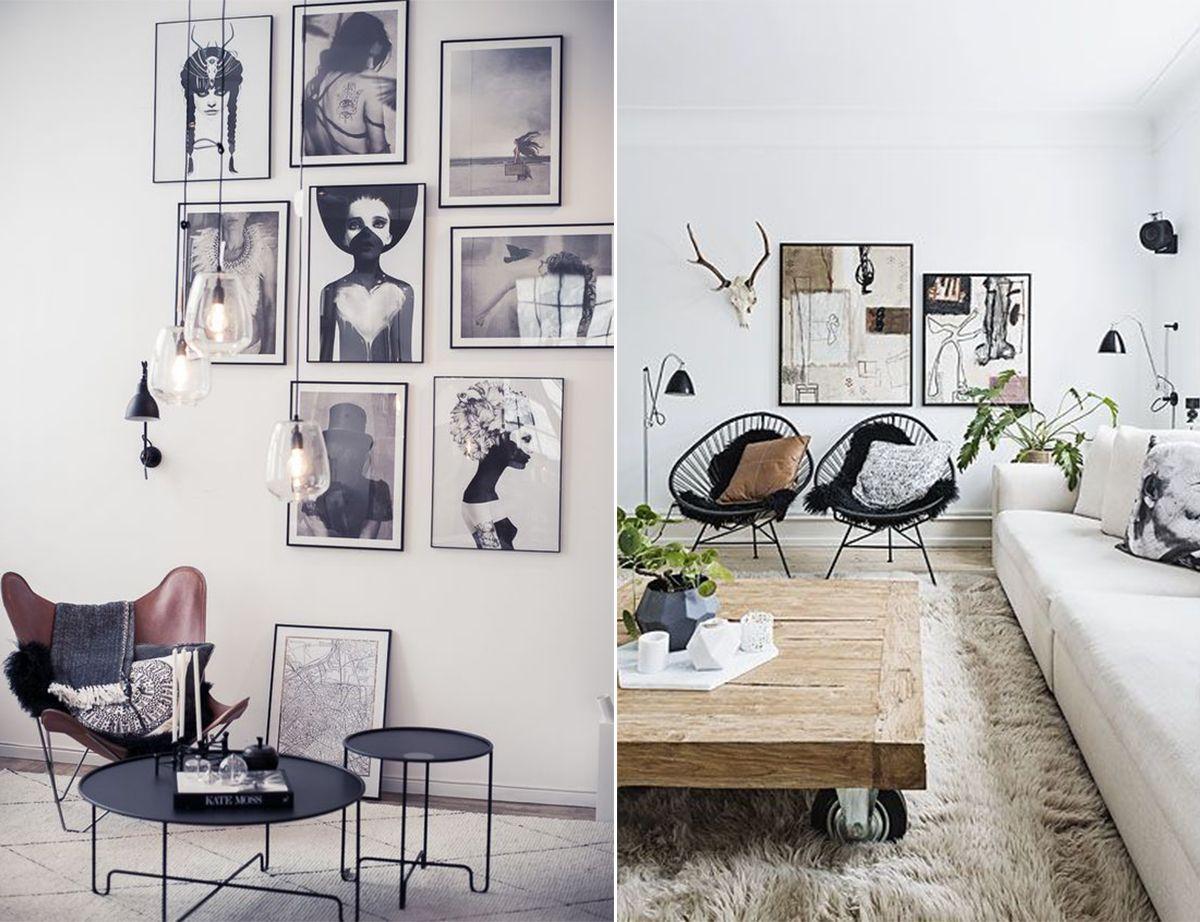 дизайн гостиной в Скандинавских традициях