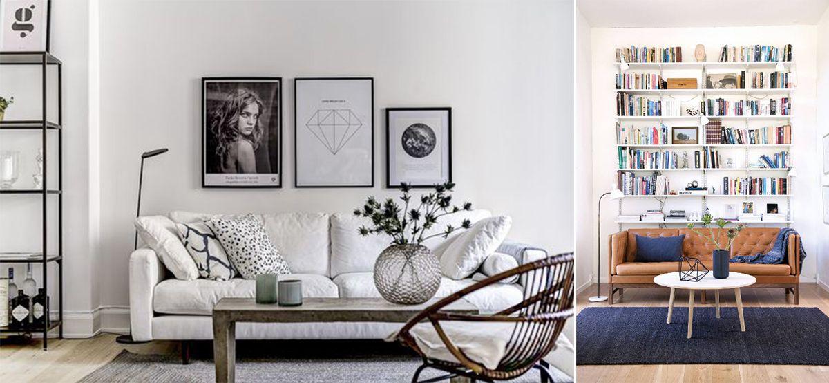 Дизайн-интерьера гостиной в Скандинавском стиле