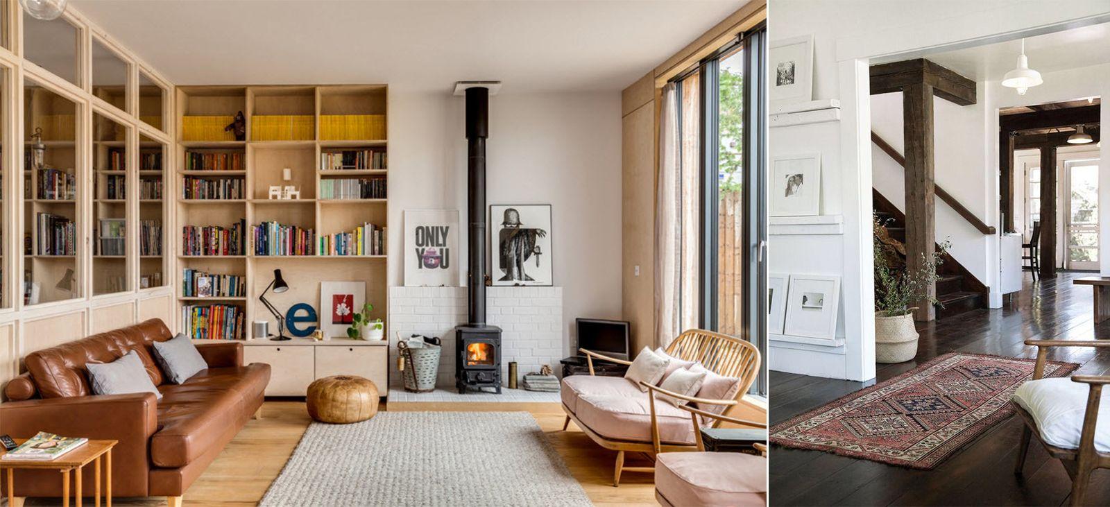 гостиная в скандинавском стиле_11