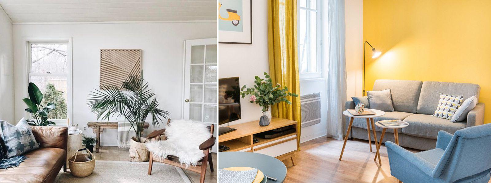 гостиная по Скандинавским мотивам