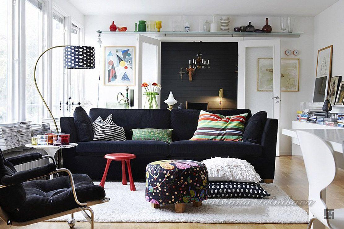 гостиная в скандинавском стиле_7