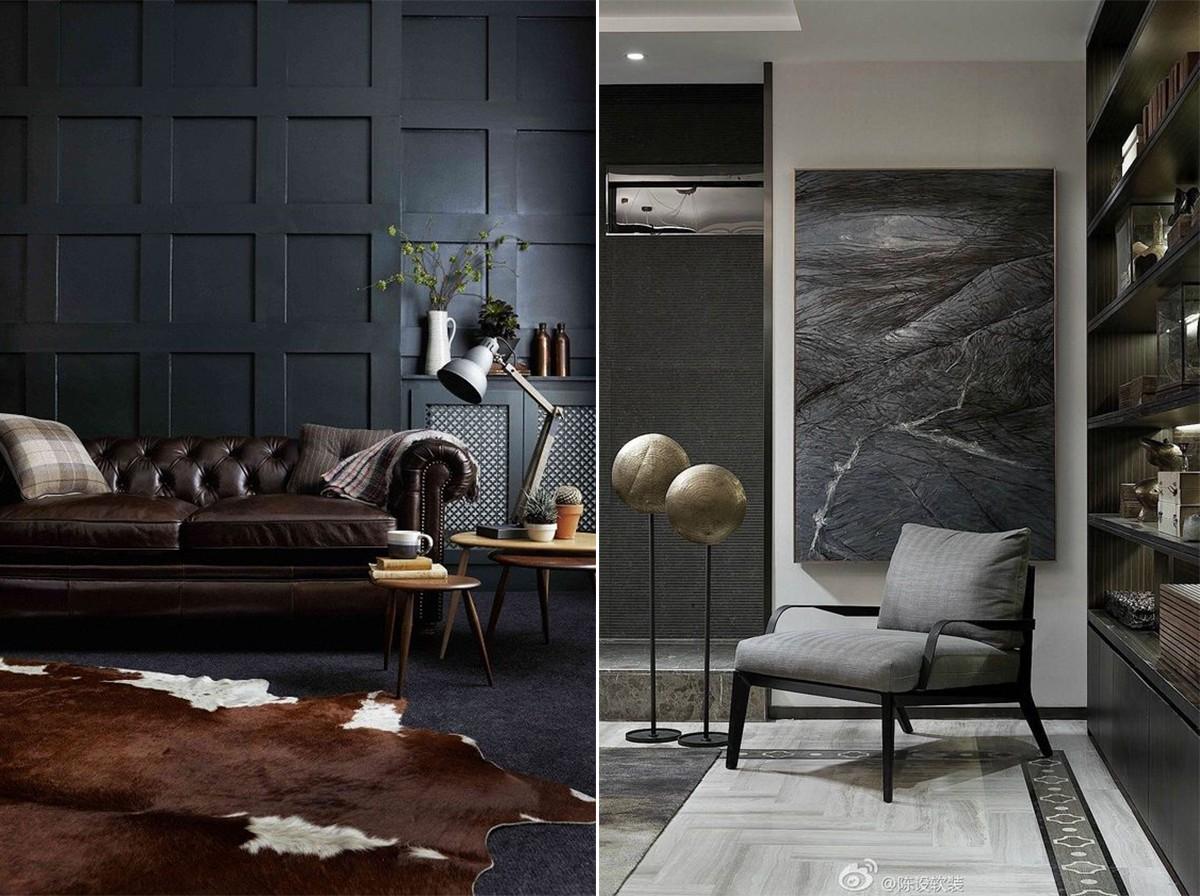 интерьер маленькой гостиной в классическом стиле