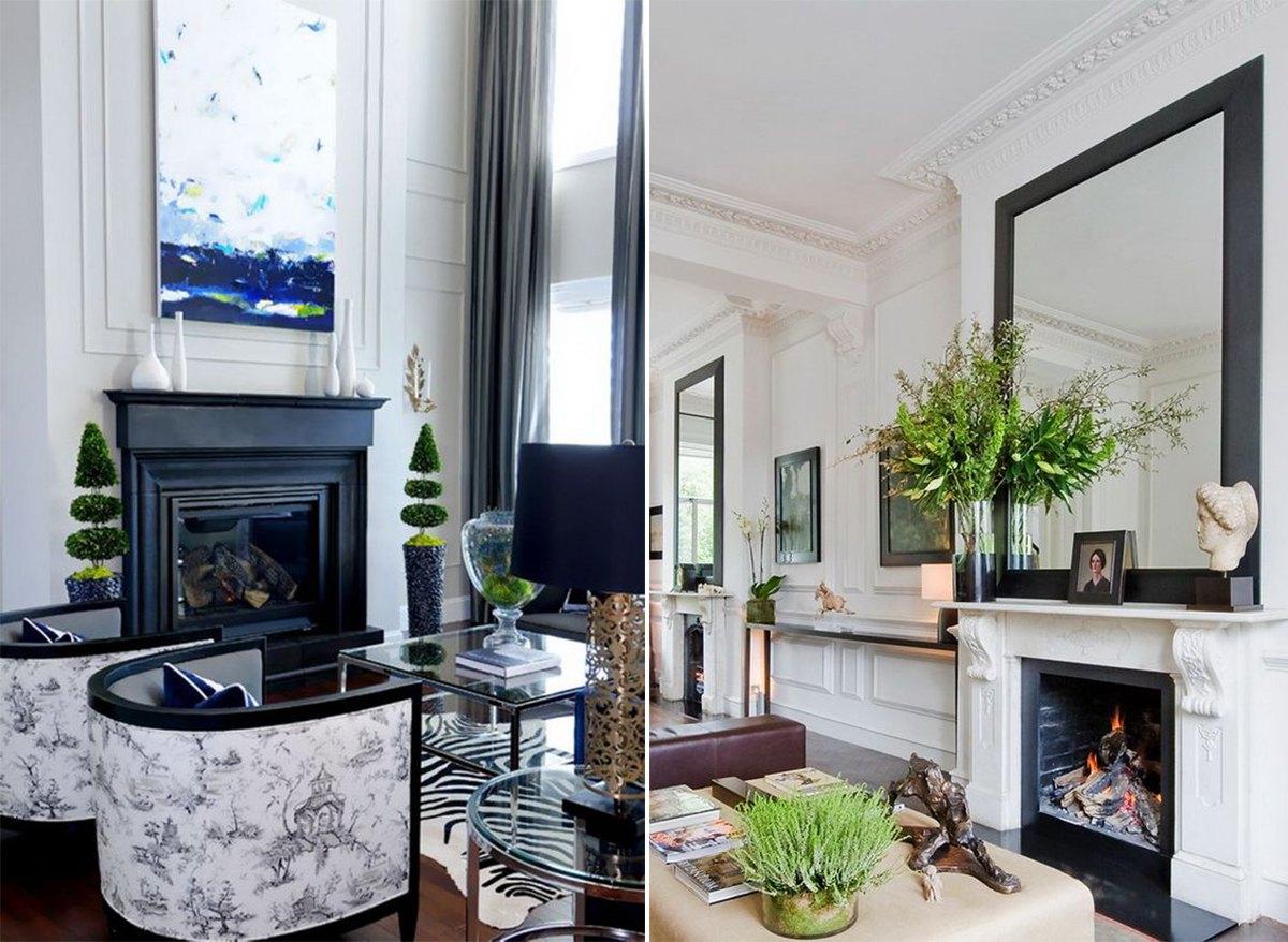 дизайн гостиной в классическом стиле_2