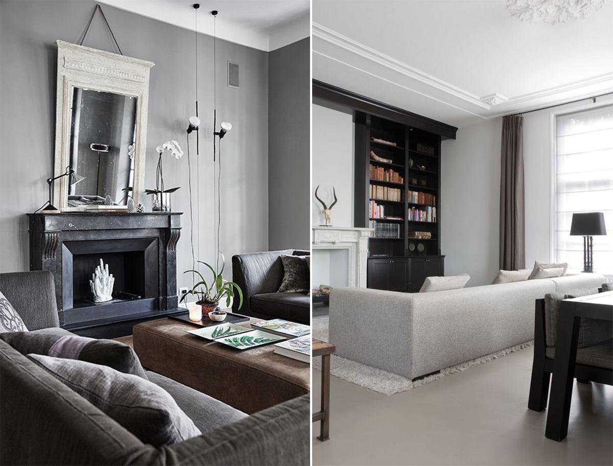 гостиная в классическом стиле _6