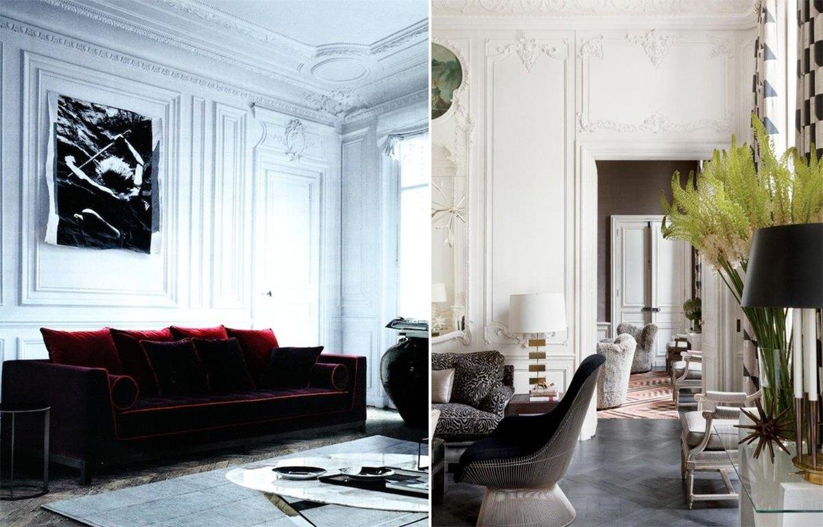 дизайн гостиной в классическом стиле_1
